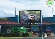 Curved Waterproof IP67 outdoor advertising led display for airport / gym / market