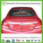 P5 RGB Full Color car taxi roof led sign Display 3G Control Super Clear Vision