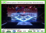 Binnenforstadium/de post van gordijn adversiting fullcolor p4.81led screen250*250mm