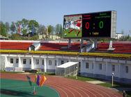 Van Goede Kwaliteit RGB led display & Sportenstadion LEIDENE van het Reclamescorebord P4.81 Videomuurhuur 1R1G1B te koop