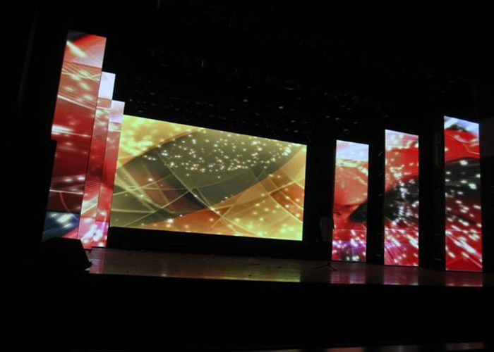 HD Indoor Full Color Led Display Rental / Led Video Wall Panel Great Waterproof