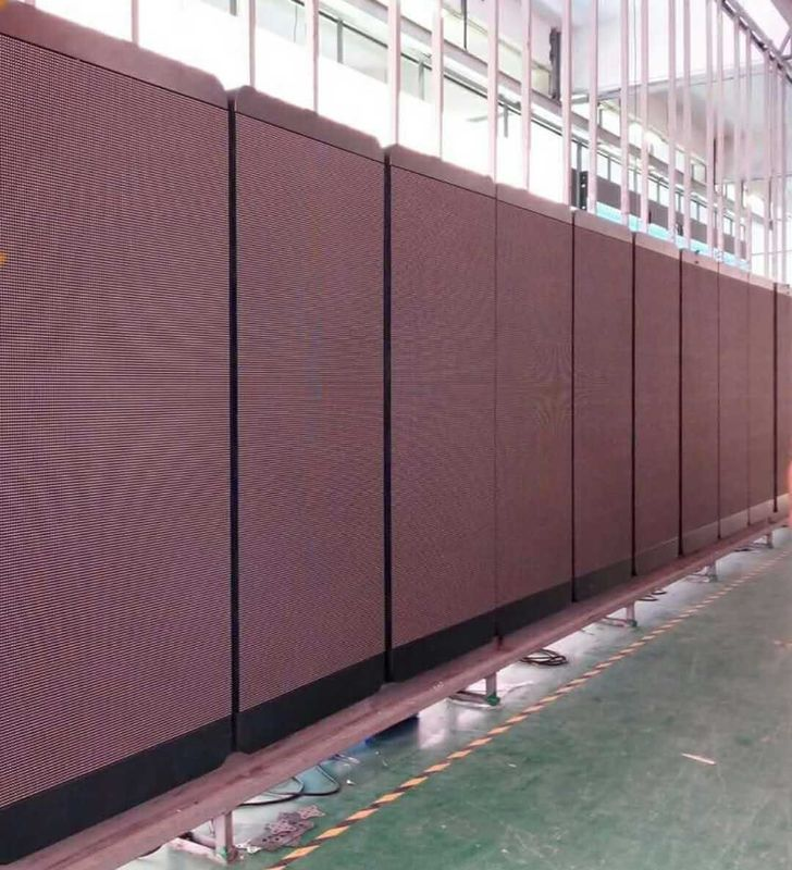 Smd3528 Great Waterproof Outdoor Full Color Led Display Video Screen Rental For Pole Sign