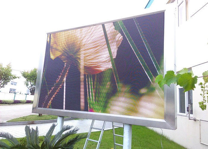 HD Giant Screen P10 Outdoor Full Color LED Display Video Wall Commercial Advertising