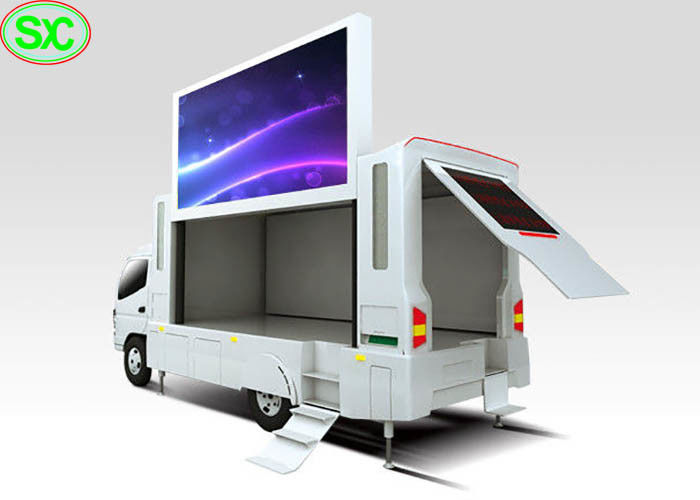 P6 Outdoor Digital Billboard Mobile Truck LED Display for Advertising