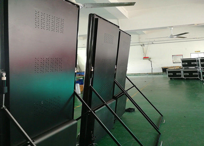 Poster Screen Indoor Full Color LED Display Waterproof Ip27 SMD2121 Die Casting Cabinet