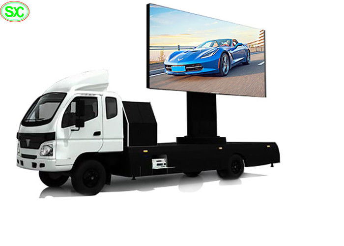 8000 Nits Brightness Mobile Digital Billboard Advertising Truck Mounted P5 Waterproof