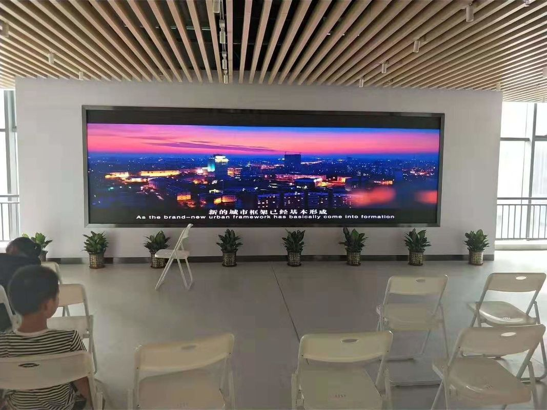 Flexible Indoor HD SMD LED Screen Thin P4 LED Display Refresh Rate 1920Hz