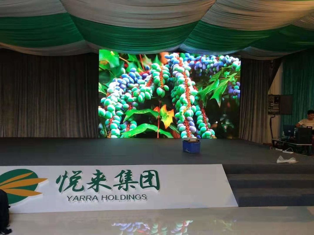 SMD Ultra Thin P3 Indoor Full Color LED Display 6500K - 9500K Color Temperature