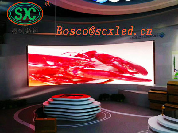 P3.91 Indoor Stage LED Screens Full Color AC90 - 260V 50 - 60Hz Operation Power