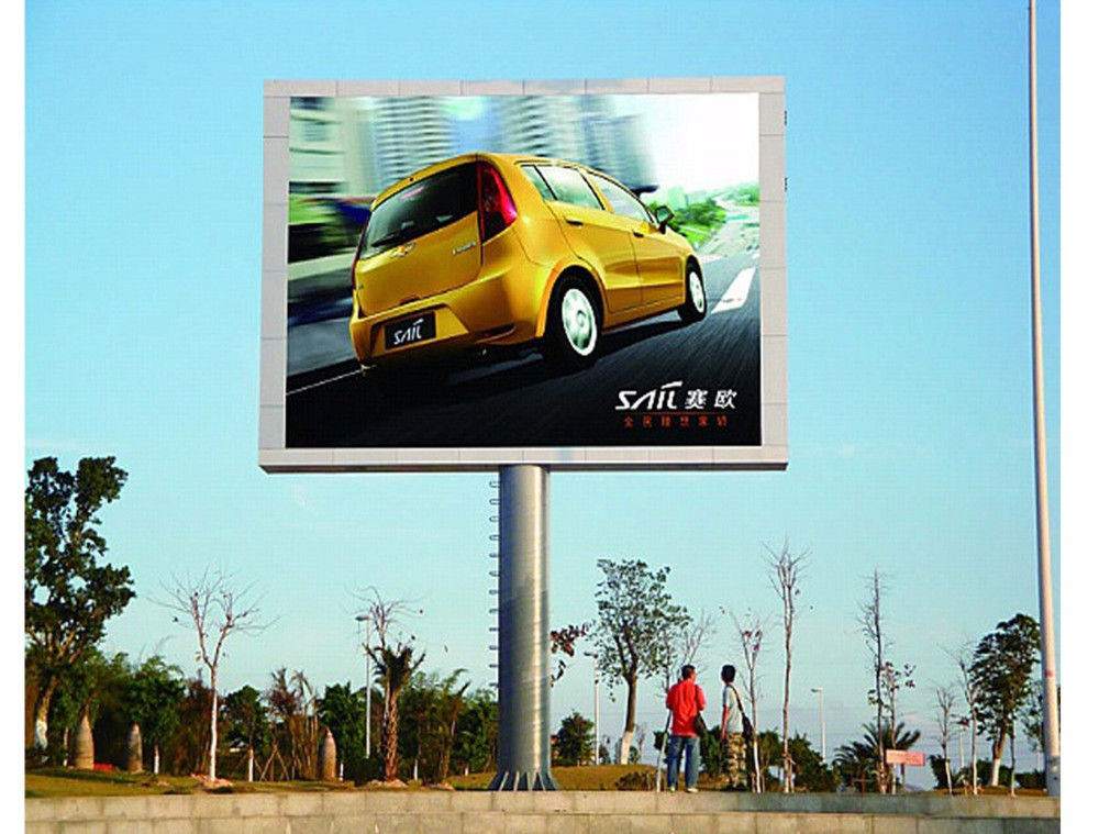 Fixed OOutdoor Full Color LED Display Advertising Video Wall P4.81 SMD 3535