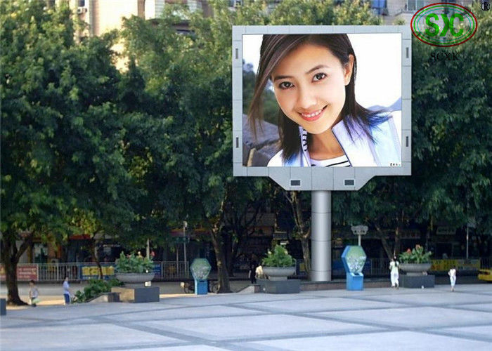 IP65 P 10 Electronic Outdoor Full Color LED business signs Panel Board , 160x160mm Module