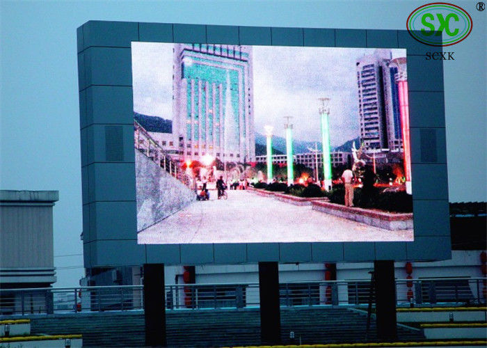 Rental Picture advertising tri color RGB LED Display screen With 1/4 scanning