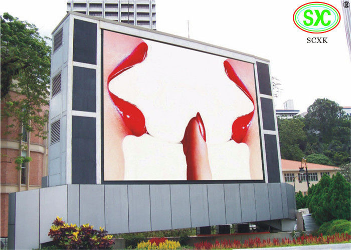 Waterproof SMD RGB LED Display , Exterior multi color Giant LED Screen